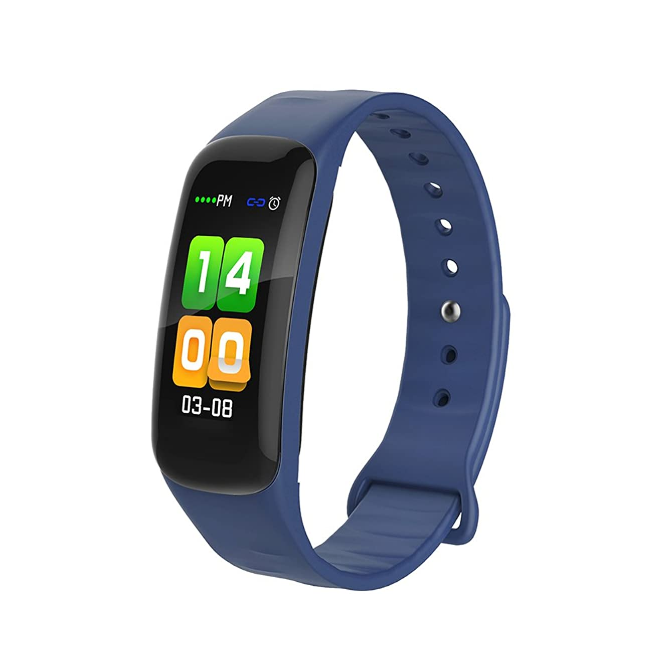 Fitness Tracker with Upgraded Color Display Colorful UI Touch Screen, Smart Watch with Heart Rate Monitor and Sleep Monitor Call/SMS Remind, IP67 Waterproof Activity Tracker for iOS/Android.