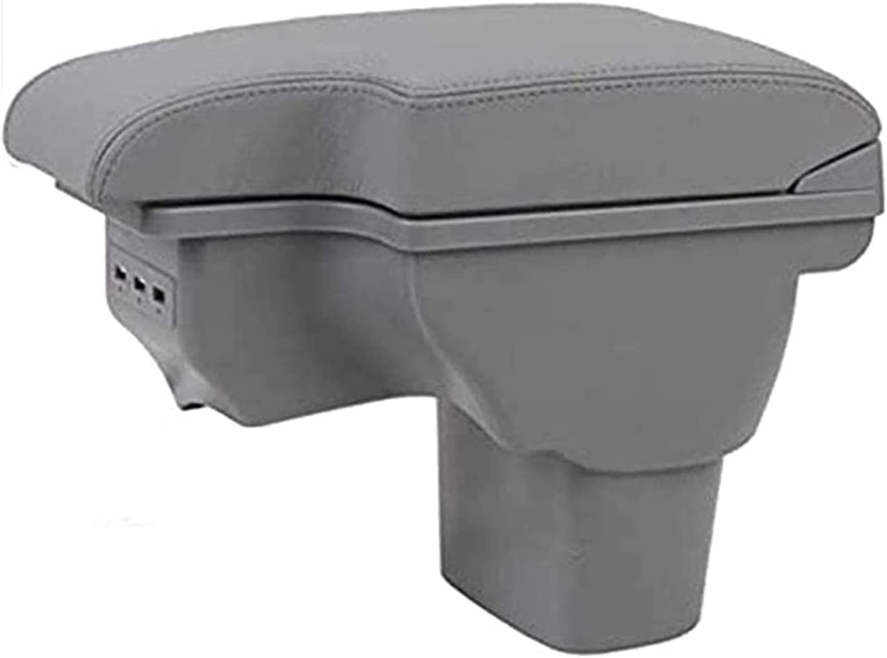 YBNB Leather Car Console Armrest Juke USB Box Popular product for New sales Center