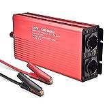 Máxima potencia de salida 2000W Inversor electrico Convertidor inversor de Ola cuadrada Convertidor 12 V 220 V