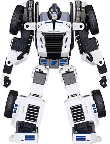 SWAGITLOUD Robosen T9E Kids Robot Toy Real Transformers - Advanced Programmable and Convertible Robot - STEM: Fun, Educational with Voice and App controls