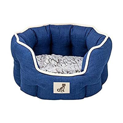 All Pet Solutions Alfie Range - Fleece Lined Warm Luxury Dog Bed - Washable by All Pet Solutions