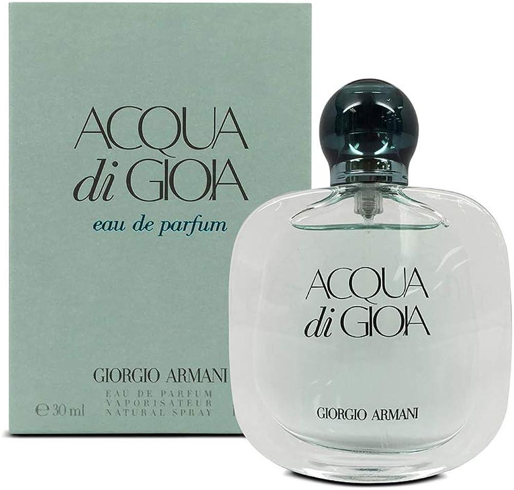 Giorgio armani acqua di gioia, eau de parfum per donna, 30 ml GIO70