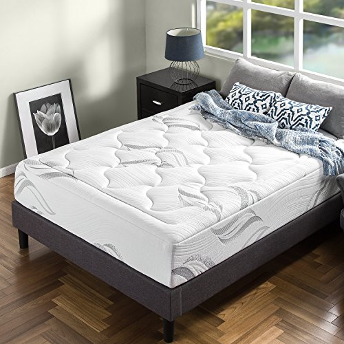 Zinus 12 Inch Cloud Memory Foam Mattress / Pressure Relieving / Plush Feel / Bed-in-a-Box / OEKO-TEX and CertiPUR-US Certified, King