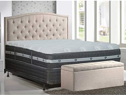 Review Of Mattress Solution 11-inch Fully Assembled Soft Orthopedic Mattress and 4 Semi Flex Box Fo...