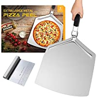 "DWTS Danweitesi Large Pizza Peel 16"" with Folding Handle"