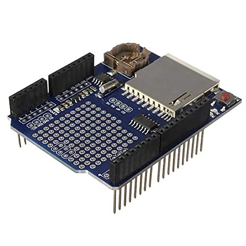 for Arduino - Products That Work with Official Boards,3Pcs Logging Recorder DataLog Shield Data Logger Module Expansion Board Module