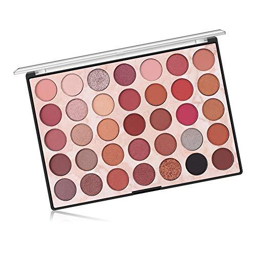 CHAWHO 35 Farben Lidschatten Makeup-Palette - Best Pro Ultra Pigmented Lidschatten Schminkkasette...