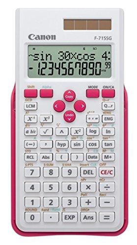 CANON F-715SG EXP DBL Taschenrechner Weiss & Magenta
