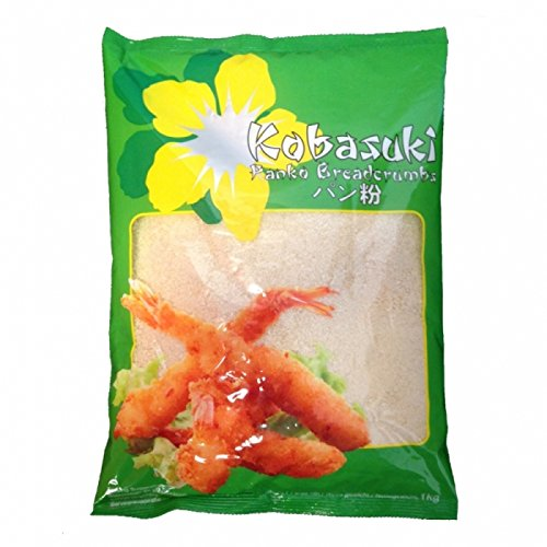 Panko Mehl / Breadcrumbs - Paniermehl nach japanischer Art - Kobasuki, 1er Pack (1 x 1kg)