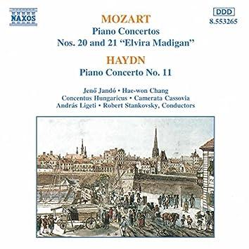 Mozart: Piano Concertos Nos. 20 and 21 / Haydn: Piano Concerto No. 11