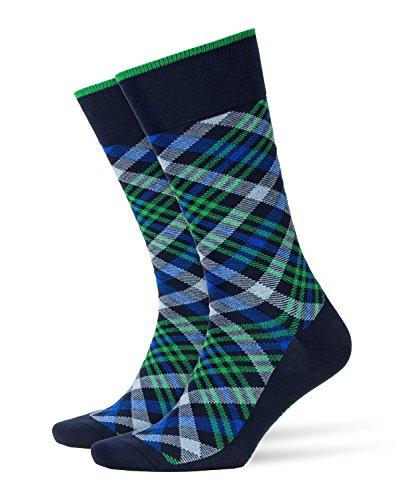 BURLINGTON Herren Socken Cadogan - 83% Baumwolle , 1 Paar, Blau (Marine 6120), Größe: 40-46