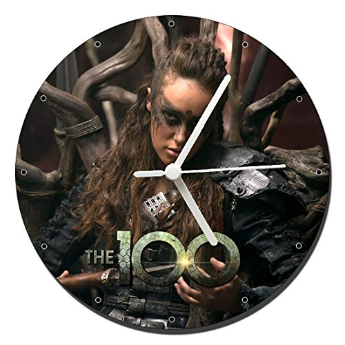 MasTazas Los 100 The 100 Lexa Alycia Debnam-Carey Reloj de Pared Wall Clock 20cm