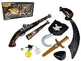 ARUNDEL SERVICES EU Pirata vestirse Espadas Accesorio Pirata para Disfraces Juguete Piratas Juego de Piratas para Disfraces para niños