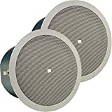 JBL Control 19CST In-Ceiling Subwoofer 8 Inch 70V-100V Transformer 180 Degree Conical Coverage- PRICED AND SOLD AS A PAIR