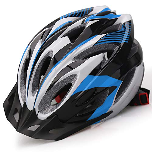 Shinmax Adult Bike Helmet,Bicycle Helmet with Removable Visor.Climbing Specialized Road Helmet Adjustable Lightweight Ultralight Cycling Helmet for Men Women Safety Protection SM-T99