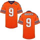 Villa The Waterboy Camiseta de fútbol #9 Bobby Boucher 50 Aniversario Cosido Película de Fútbol Camisetas Hombres S-XXXL - Naranja - Large
