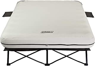 Coleman Airbed Cot with Side Table (Certified Refurbished)