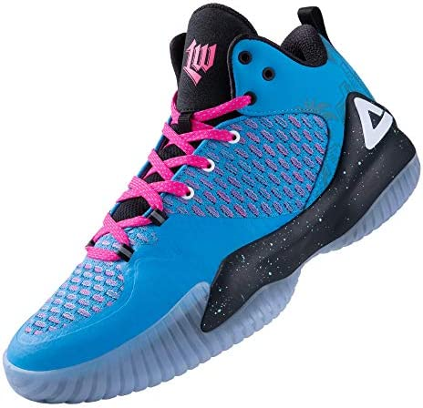 PEAK High Top Mens Basketball Shoes Lou Williams Streetball Master Breathable Non Slip Outdoor product image