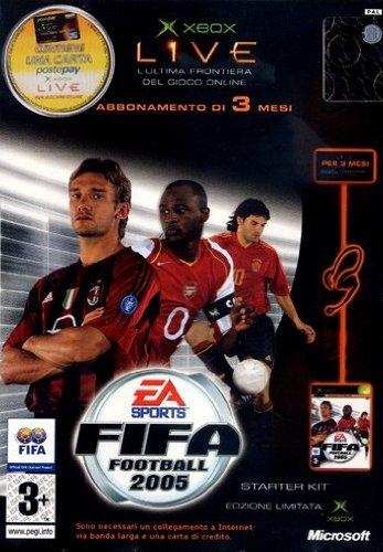 FIFA 2005 + Xbox Live Kit [Importación italiana]
