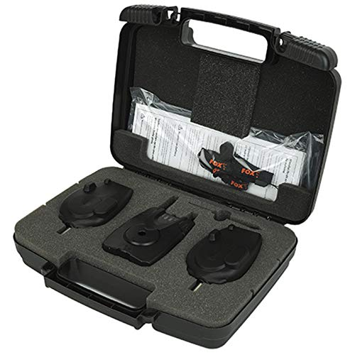 Fox Micron MX Bite Alarm - 2 Rod Presentation Set
