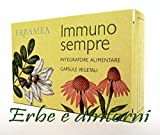 IMMUNO SEMPRE 30 Capsule da 500 mg. Echinacea, Acerola, Astragalo, Quercetina