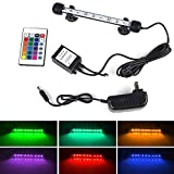 >>> Colorful LED Lights --- Use of 15 RGB LED lights with 16 color 4 modes and controled by wireless remote, can make your fish tank a colorful landscape. Can be widely used in fish tanks, cisterns, rockeries, pet cages and others. Bright LED Bar can...