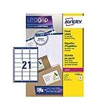 Avery Etiquetas autoadhesivas para dirección de correo (etiquetas de código de barras de...