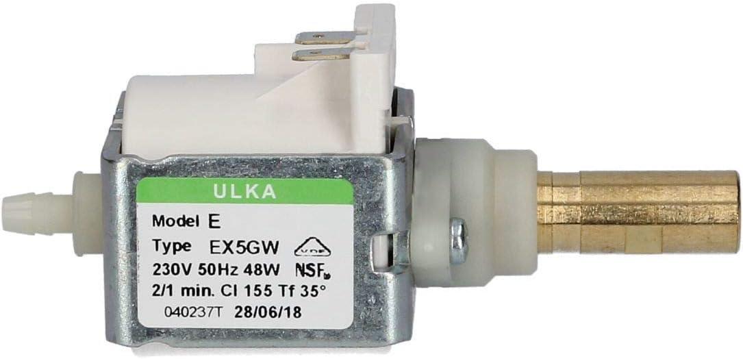 DL-pro Ulka EX5GW - Bomba universal para cafeteras (48 W, 230 V)