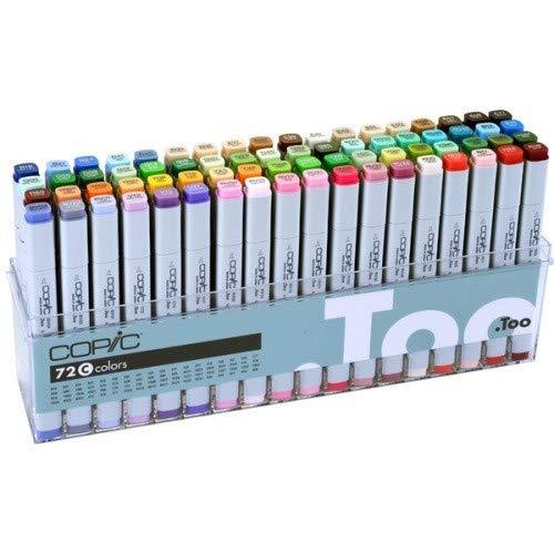 Copic Markers - Juego de rotuladores originales (72 °C), color blanco
