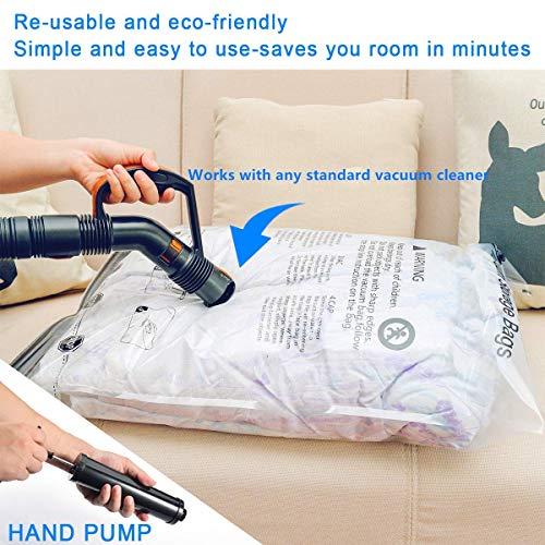 SUOCO Vacuum Storage Bags 8 Pack (Large 32