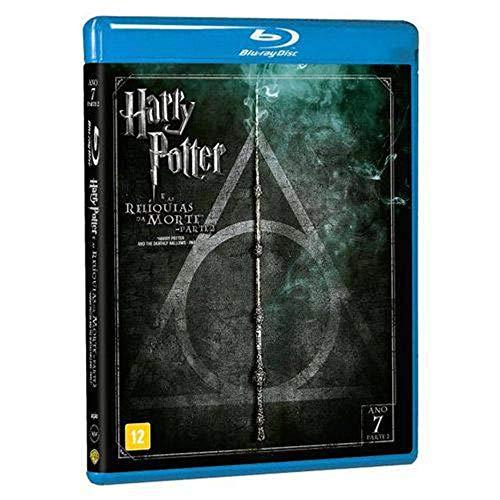 Harry Potter E As Reliquias Da Morte P2 [Blu-ray]