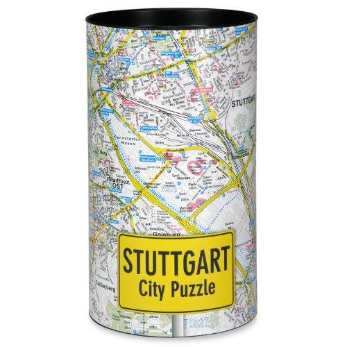 Extragoods City Puzzle - Stuttgart Premium Puzzle Erwachsenenpuzzle Spiele Puzzle Städtepuzzle