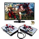 CNMJI Pandora's Box Juegos Clásicos Consola De Videojuegos 3160 in 1 Multijugador Arcade Game Console con 2 Botones De Joystick Partes De La Fuente De Alimentación Salida HDMI VGA USB