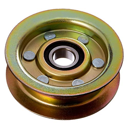 POSEAGLE GY20067 Flat Idler Pulley for John Deere 42' and 48' Decks Fits L-100, L-110, and L-120 Series Tractors Replaces GY20067, GY22172,Oregon 78-118-0, Stens 280-084,Rotary 10741 (1 Pack)