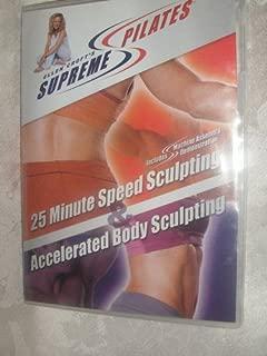 Ellen Croft's Supreme Pilates: 25 Minute Speed Sculpting & Accelerated Body Sculpting (DVD)