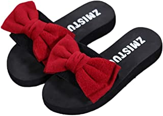 Zapatillas de Playa Deportivas al Aire Libre Zapatos de Playa Sandalias Chanclas de Fondo Grueso Sandalias Verano con Lazo...