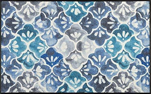 wash + dry Tapis Bleu 75 x 120 cm