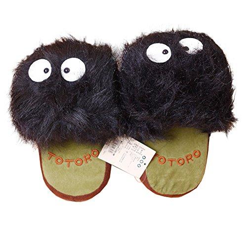 Totoro: Dust Bunny - Makkurokurosuke- Slippers (Pair)