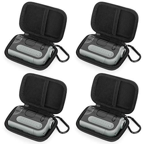 Fromsky Hard Case for Carson MicroBrite Plus 60x-120x LED Lighted Zoom Pocket Microscope, Travel Case Protective Cover Storage Bag (4PCS)