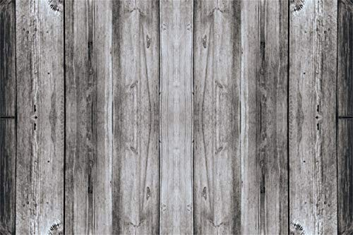 Laeacco 5x3ft Vintage Grunge Old Wood Plank Background Countryside Vinyl Photography Backdrop Nostalgia Rustic Wood Texture Wall Backdrops Children Adults Pets Production Photo Shoot Old Fence