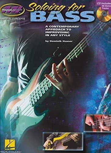 Soloing for Bass (Book/CD). Para Guitarra Bajo, Guitarra de graves de Tablatura