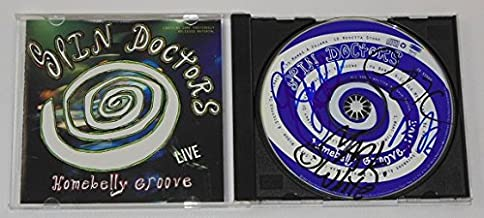 Spin Doctors Homebelly Groove Live Authentic Group Signed Autographed Music Cd Compact Disc Loa