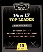 10CBG 14x 17サイズトップローダー–アーカイブCollectiblesに品質の保護