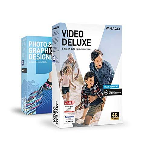MAGIX Bundle: Video deluxe 2020 + Photo & Graphic Designer 16