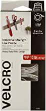 VELCRO Brand Industrial Fasteners Low Profile Thin Design | Professional Grade Heavy Duty Strength Holds up to 10 lbs on S...