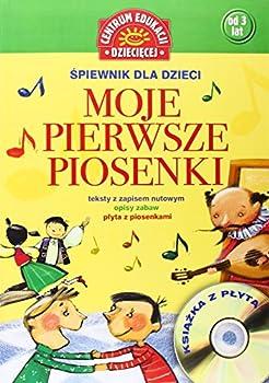 Paperback Moje pierwsze piosenki + CD [Polish] Book