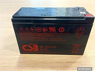 CSB Battery - Plomo 12V.2AH batería CSB GP1272 F2 - GP1272F2