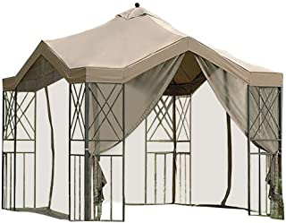 Deluxe Pagoda Gazebo Replacement Canopy - RipLock 500