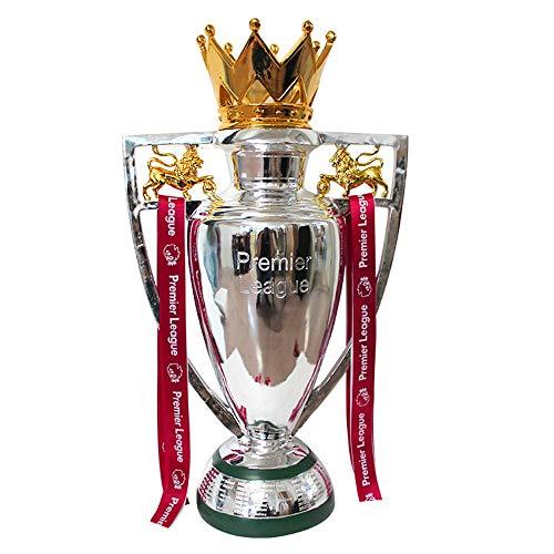 EP-Home Premier League Liverpool 2020 Fußball-Trophäe, Sport Silber-Champion Cup Für Fans, Hauptdekoration Und Geschenk,44cm/17.3Inch