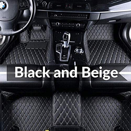 BUSUANZI Alfombrillas para Coche Antideslizantes Moqueta,para BM-W E30 E34 E36 E39 E46 E60 E90 F10 F30 X1 X3 X4 X5 X6,Estera Traje De Lujo Piso Impermeable Alfombrilla